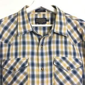Pendleton Frontier Men's Short Sleeve Shirt XL